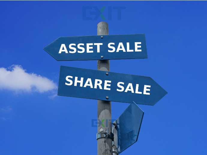 selling assets or selling shares