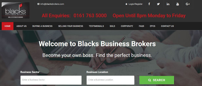blacks business brokers homepage