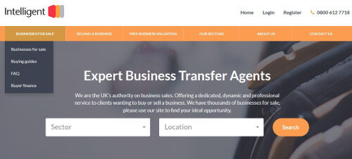 intelligent business transfer website